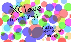 XClave - Chris' Blog - Coder Not Artist