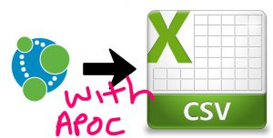 Better Know APOC #1: apoc export csv * | XClave